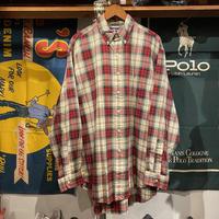 POLO RALPH LAUREN cotton check shirt (L)