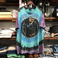 "ZION BOB MARLEY ""LIVE FOREVER""tie dye tee(L)"
