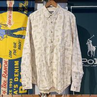 Eddie Bauer animal dot B.D shirt (L)