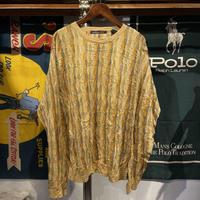 northern isles crazy pattern knit (L)