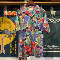 【Web限定】Hawaiian Originals flower aloha shirt (M)