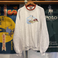 TOP STITCH lighthouse made in USA sweat (L)