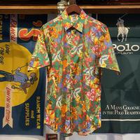 TRAVERSE tropical aloha shirt (L)