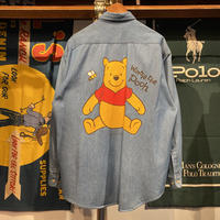 "ANAHEIM CLUB ""Winnie the Pooh"" denim shirt"