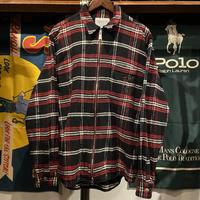 Carhartt WIP bryan check zip shirt (XL)