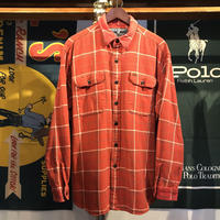 POLO SPORT pocket check shirt (L)