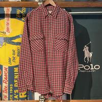 【web限定】HIP CHIC cotton check shirt (2XL)