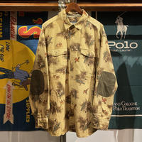 WOOLRICH elbow patched hunting shirt (XL)
