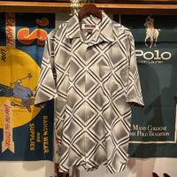 SOUTHPOLE squeare pattern shirt (M)