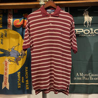 POLO RALPH LAUREN small pony border polo-shirt (S)
