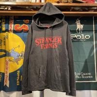 STRANGER THINGS logo hoodie (L)