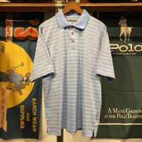 【web限定】PEBBLE BEACH border polo shirt (L)