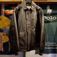 L.L.Bean leather jacket (M)