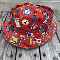 ROLL-UP HAT automobile manufacture print bucket hat
