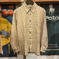 pierucci soft check shirt (L)
