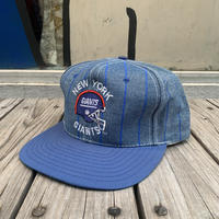 "NFL ""NEW YORK GIANTS "" adjuster cap(Denim)"