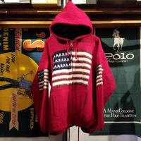 RUMINAHUI USA Full-Zip wool  Hoodie