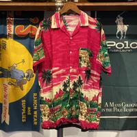 MAJIC hawaiian pocket aloha shirt (L)