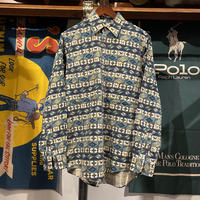 【web限定】L.L.Bean native pattern shirt (S)