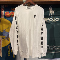PLAYBOY emboroided bunny L/S tee (M)