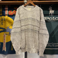 ST JOHN'S BAY made in mexico cotton brend knit (M)