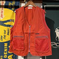 ELLE back logo mesh vest