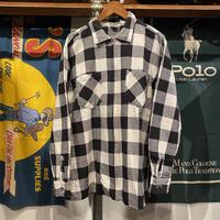 CINEMA shadow check zip-up jacket (L)