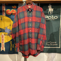 L.L. Bean check shirt (L)