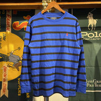 POLO RALPH LAUREN small pony border knit (XL)