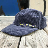 KNOW WAVE tea club corduroy adjuster cap