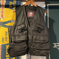 SEQUELA pig leather vest (L)