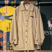 MICHIKO KOSHINO logo soft poly coach jacket (M)