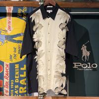 pierre cardin rayon design shirt (XL)