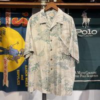 L,B, summer aloha shirt (L)