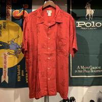CHEROKE Waikiki wear boat pattern shirt(L)