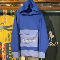 GU × Play Station double face hoody (XL)