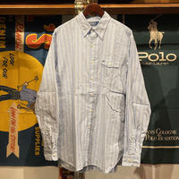 POLO RALPH LAUREN stripe shirt (L)