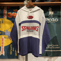 SPARDING brand mark pull-over parka (L)