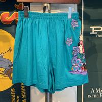 MICKEY Hawaiian print shorts(L)