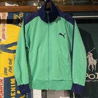 PUMA logo embroider track jacket (S)