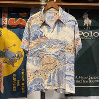 Musa-shiya japanese taste aloha shirt (S)
