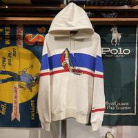 【Web限定】POLO RALPH LAUREN CP-93 yacht border hoodie (S)