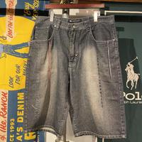 ENYCE oversize denim short pants (38)