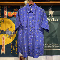 VAN ZON night camel silk shirt (L)