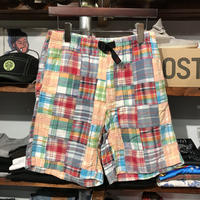 GRAMICCI patchwork shorts (S)