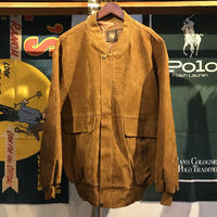 GV HAND MADE IN  ITALY suede jacket (2XL)