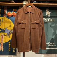 ELLE HOMME zip up shirt (L)