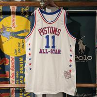 """HARDWOOD """"PISTONS"""" basketball uniform"""