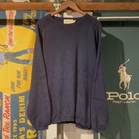 Eddie Bauer cotton plane knit (L)