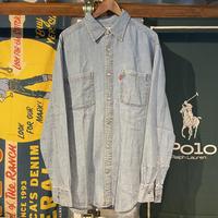 LEVI'S JEANS Cotton L/S Shirts (M)